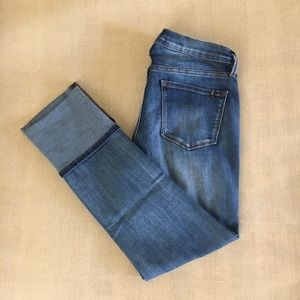 Buffalo/ David Bitton Denim Distressed Capri
